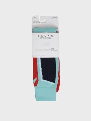 Шкарпетки лижні різнокольорові з логотипом   5512910