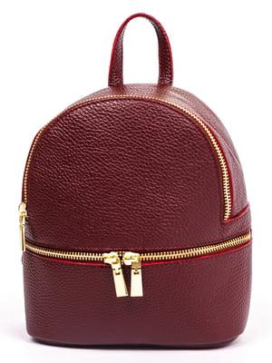 Рюкзак бордовый | 5513616