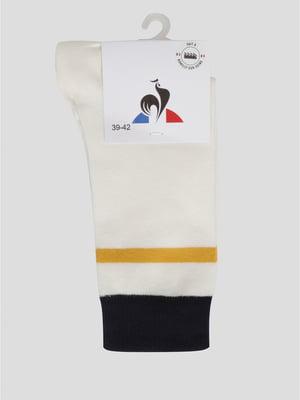 Шкарпетки білі з логотипом | 5511899