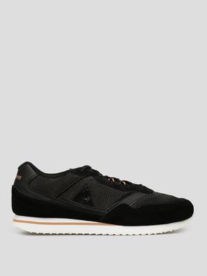 Кросівки чорні з логотипом | 5511923