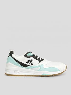 Кроссовки белые с логотипом | 5512166