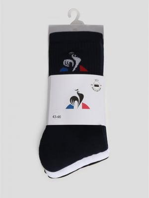Носки синие с логотипом | 5512191