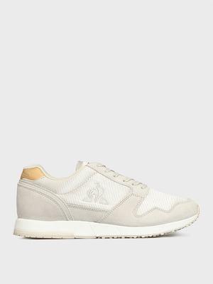 Кросівки сірі з логотипом | 5512410