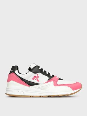 Кроссовки белые с логотипом | 5512411