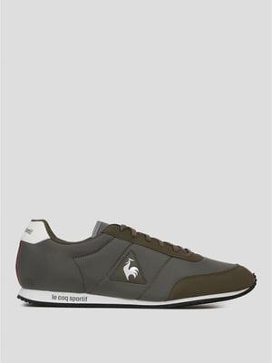 Кроссовки зеленые с логотипом | 5512426