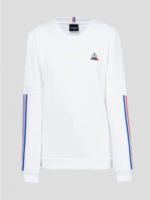 Джемпер білий з логотипом | 5512435