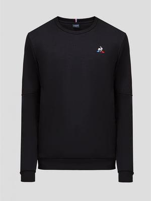 Джемпер чорний з логотипом | 5512438