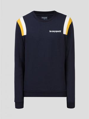 Джемпер синий с логотипом | 5512858