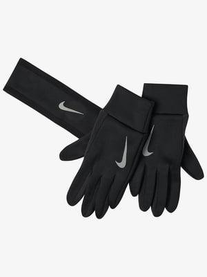 Комплект: повязка на голову и перчатки   5513035