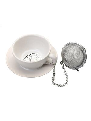 Підставка під чайні пакетики з металевим фільтром (3,5х8х8 см) | 5453397