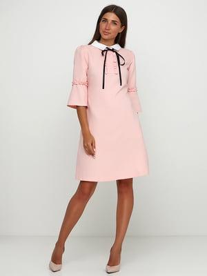 Сукня пудрового кольору | 5503292