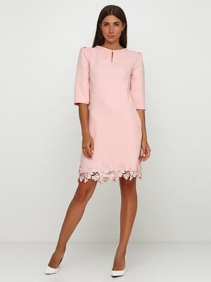 Сукня пудрового кольору | 5503293