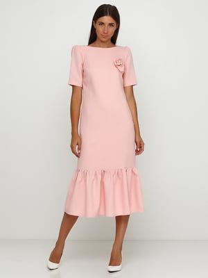 Сукня пудрового кольору | 5503324