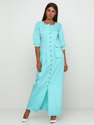 Сукня бірюзового кольору | 5503508
