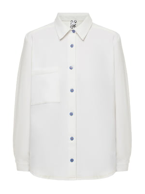 Рубашка молочного цвета | 5515989