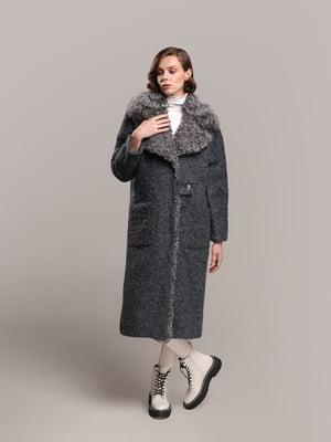 Пальто синее | 5516125