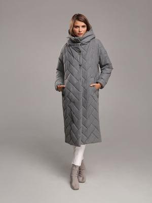 Пальто серого цвета | 5516127