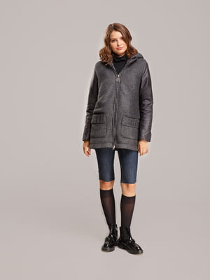 Куртка сіра | 5516129
