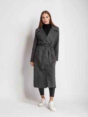 Пальто серого цвета | 5516160