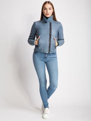 Куртка серо-голубого цвета   5516165
