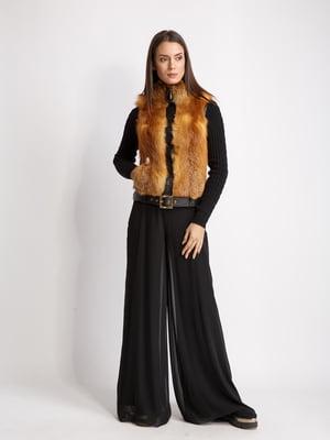 Куртка черно-рыжего цвета   5516166