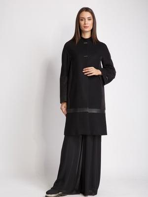 Пальто чорно-сіре | 5516168