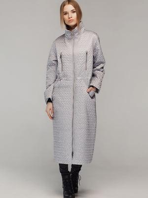 Пальто серого цвета | 5516135