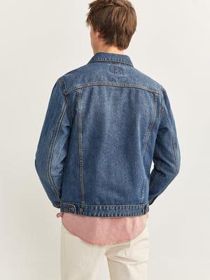 Куртка джинсовая синяя | 5515623