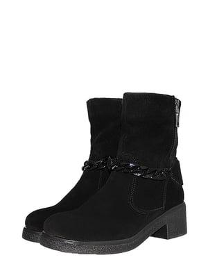 Ботинки черные | 5516526