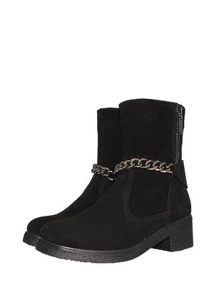 Ботинки черные | 5516527
