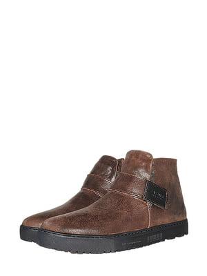 Черевики коричневі | 5515731