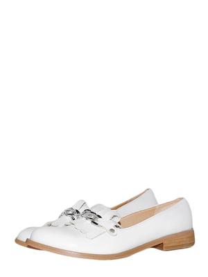 Лоферы белые | 5516320