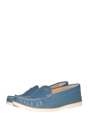 Мокасины джинсового цвета | 5516328