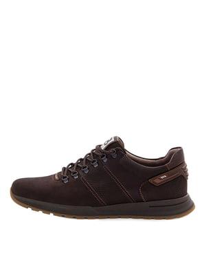 Кроссовки темно-коричневые   5516637