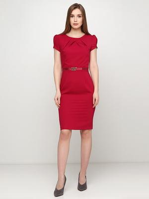 Сукня бордова | 5503630
