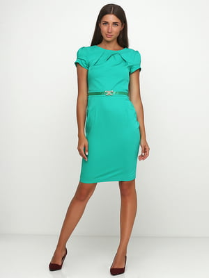 Платье бирюзовое | 5503631