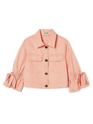 Жакет персикового кольору | 5507630