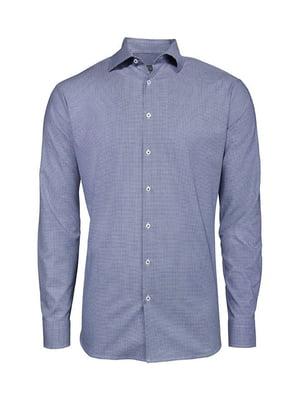 Рубашка сине-белая | 5507644