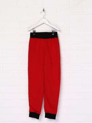 Штани червоного кольору | 5516753