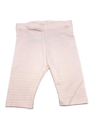 Капри розовые в полоску | 5516757