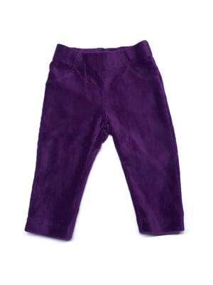 Брюки фиолетовые | 5516765