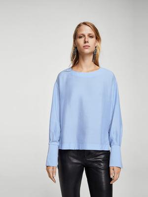 Блуза блакитна | 5516799