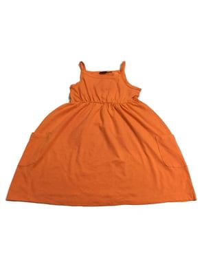 Платье оранжевое | 5517146