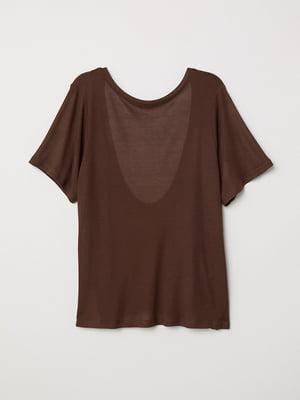 Футболка коричневая | 5517158