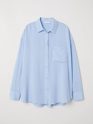 Рубашка голубая | 5517362