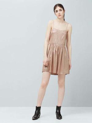 Платье бежевое | 5517539