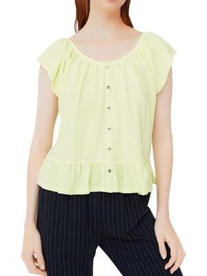 Блуза желтая | 5517642