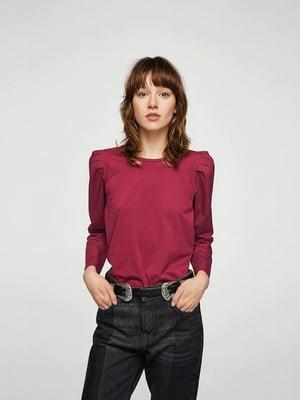 Блуза бордовая | 5517645