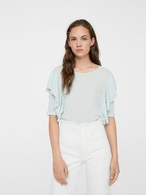 Блуза блакитна | 5517656