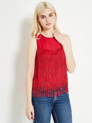 Блуза червона | 5517738